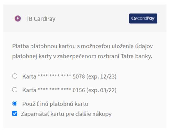 ComfortPay plugin - pokladňa